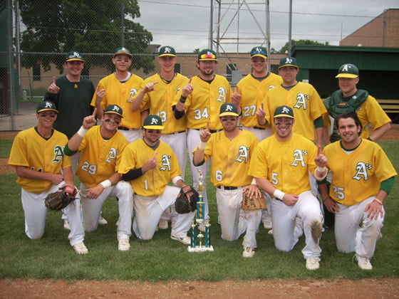 Marshall A's, 2010 Tigertown Classic CHAMPS