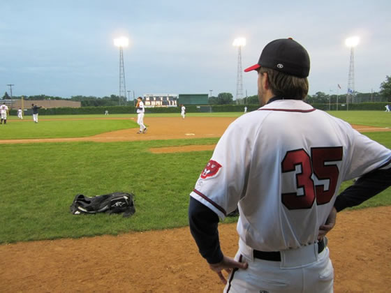 Rob Wagener ponders never giving up an earned run again