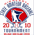 mn amateur baseball tournament logo